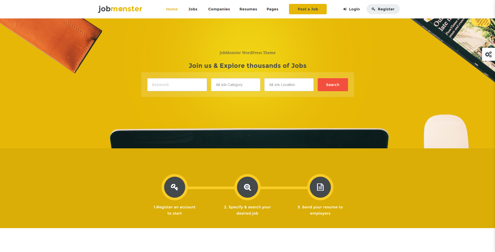 top premium job board wordpress theme wp review team jobmonster job board wordpress theme