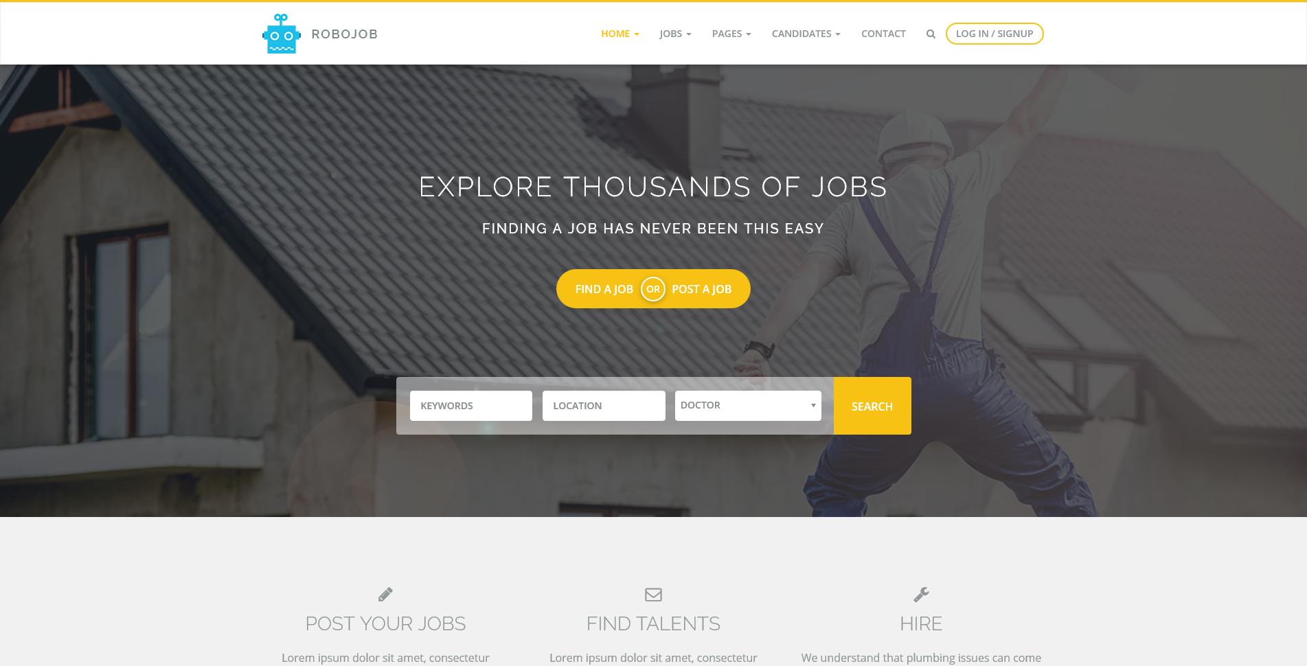 Top 10 Premium Job Board WordPress theme - WP Review Team