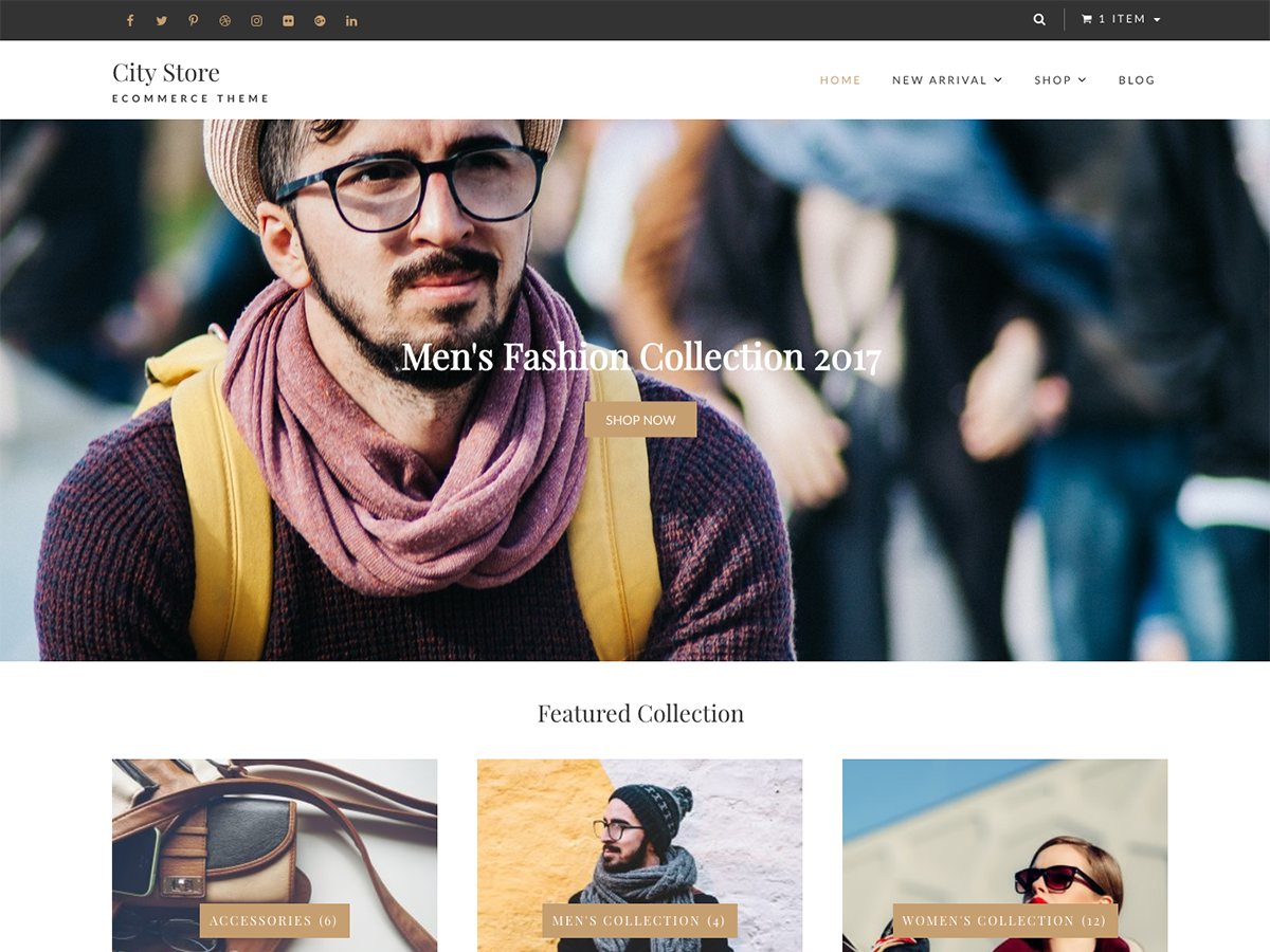 Top 20 Free Ecommerce Wordpress Themes For 2018 Wp Review Team