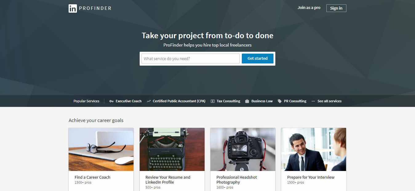 linkedin profinder, Freelance job Sites, Freelancer , Freelancing Sites, Best Freelancing sites, Sites for Freelancer