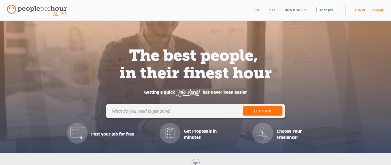 PeoplePerHour, Freelance job Sites, Freelancer , Freelancing Sites, Best Freelancing sites, Sites for Freelancer