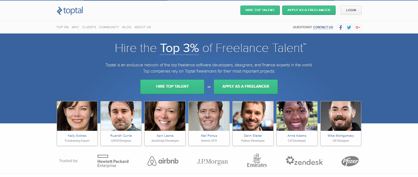 Toptal, Freelance job Sites, Freelancer , Freelancing Sites, Best Freelancing sites, Sites for Freelancer