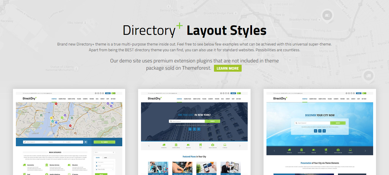 Directory+-best-premium-WordPress-theme-listings-CodePixelz