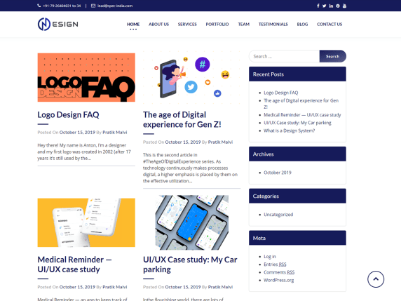 NDesign-top-best-free-WordPress-themes-for-designers-Codethemes